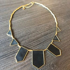 House of Harlow Classic Necklace - black/gold